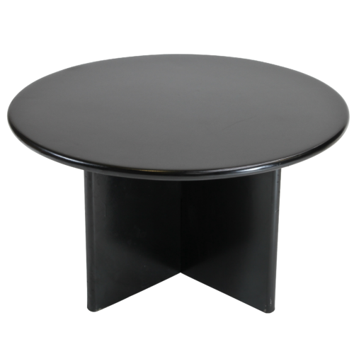 104BK Round Coffee Table Black