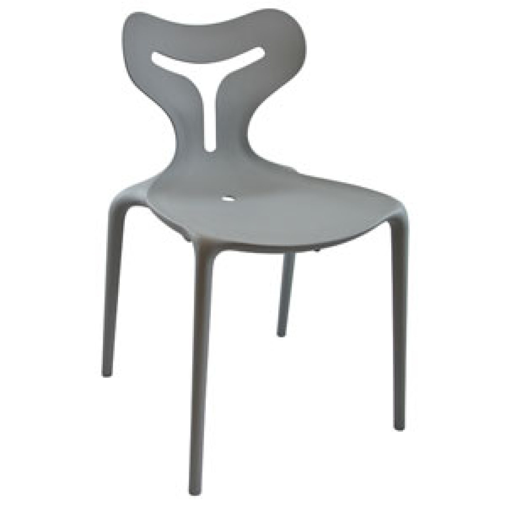 367GY Inside Out Chair Grey
