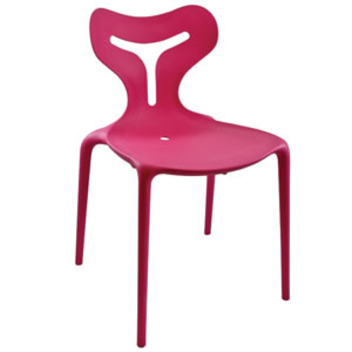 367PK Inside Out Chair Pink