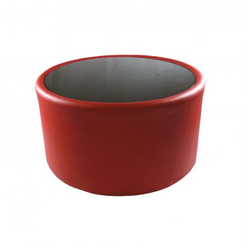 39RD Wallis Drum Table Red