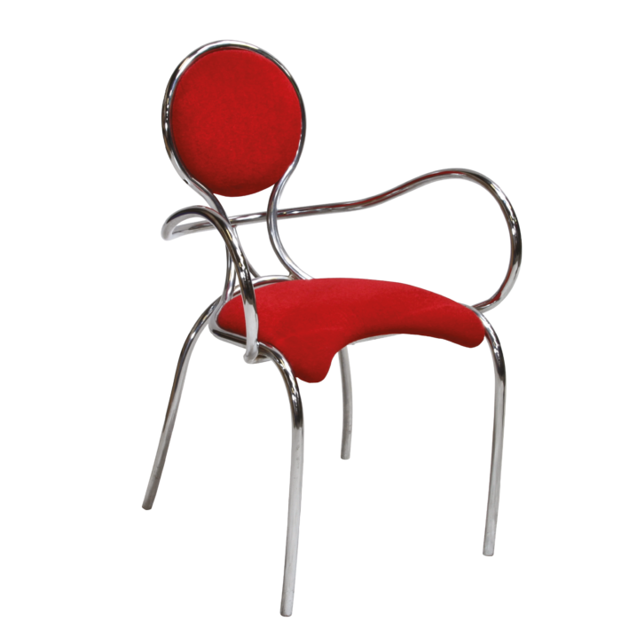 653 Saturn Chair Red