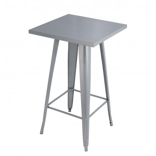 791S Ikon Poseur Table Silver