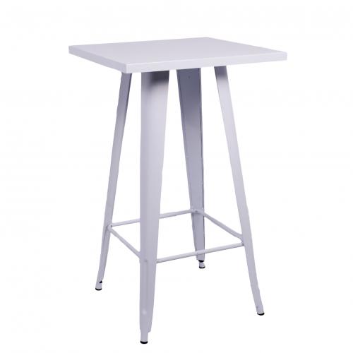 791WE Ikon Poseur Table White