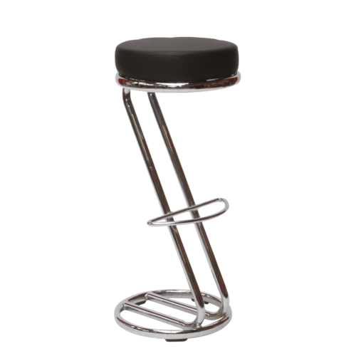 AS178BK Siegar Stool Black