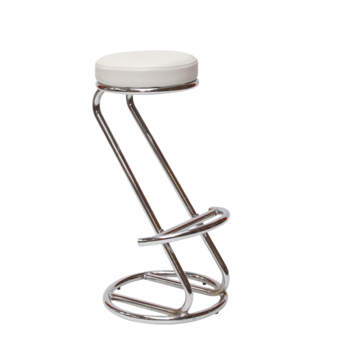 AS178WE Siegar Stool White