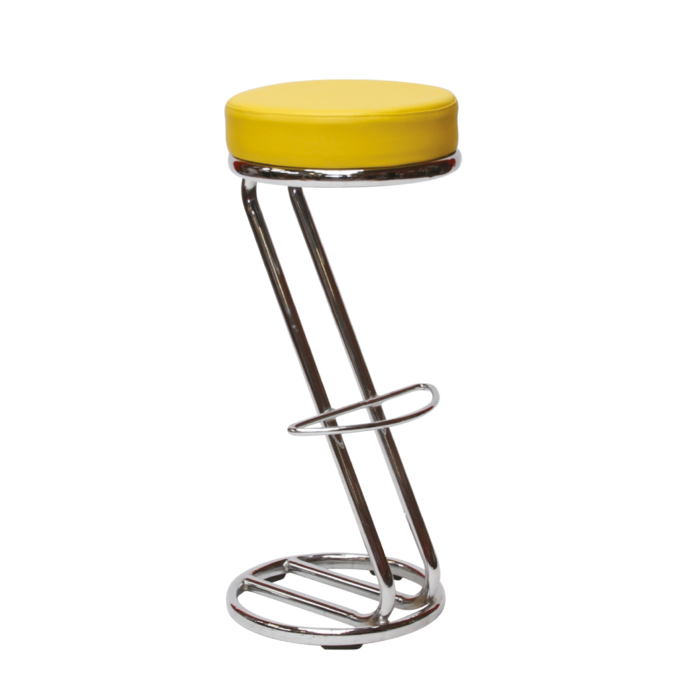 AS178YW Siegar Stool Yellow