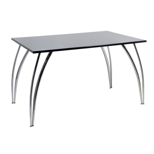 AS528RBK Arizona Rectangular Table Black