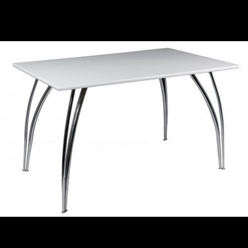 AS528RWE Arizona Rectangular Table White