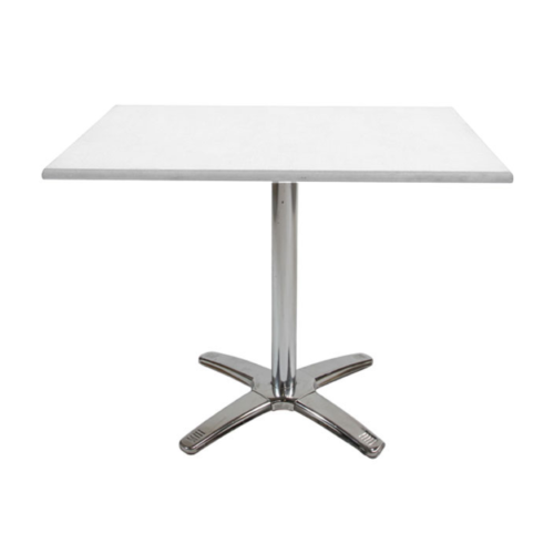ASE99SWE Chelsea Square Table White