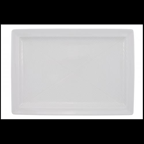 C0236 Linez White Plate