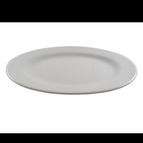 C0357 White Oval Platter