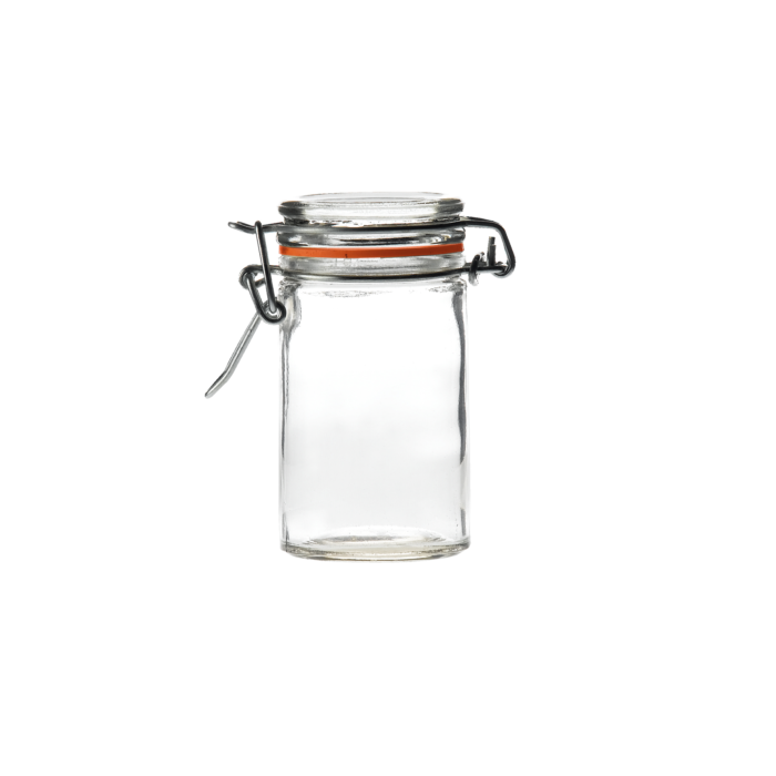 C1027 Glass Terrine Jar