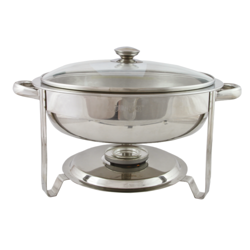 C2015 Round Chafing Dish with Glass Lid