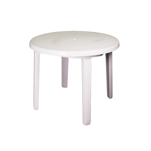 E113A Plastic Table White