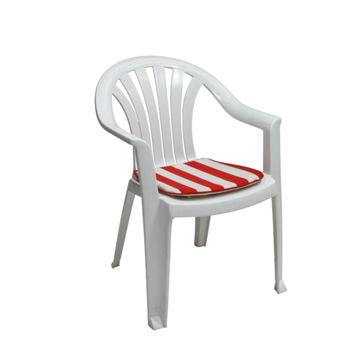 E114H Lola Plastic Chair White