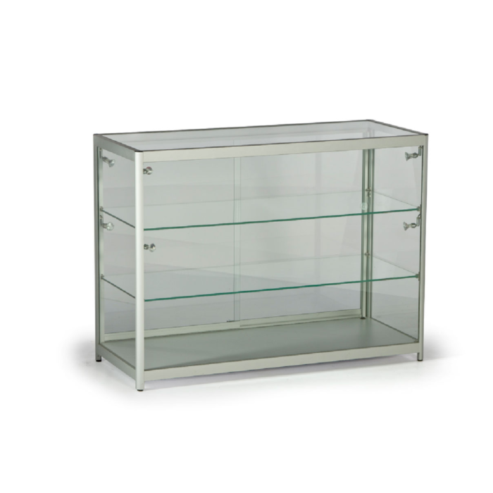 LC02 Low Glass Counter Showcase