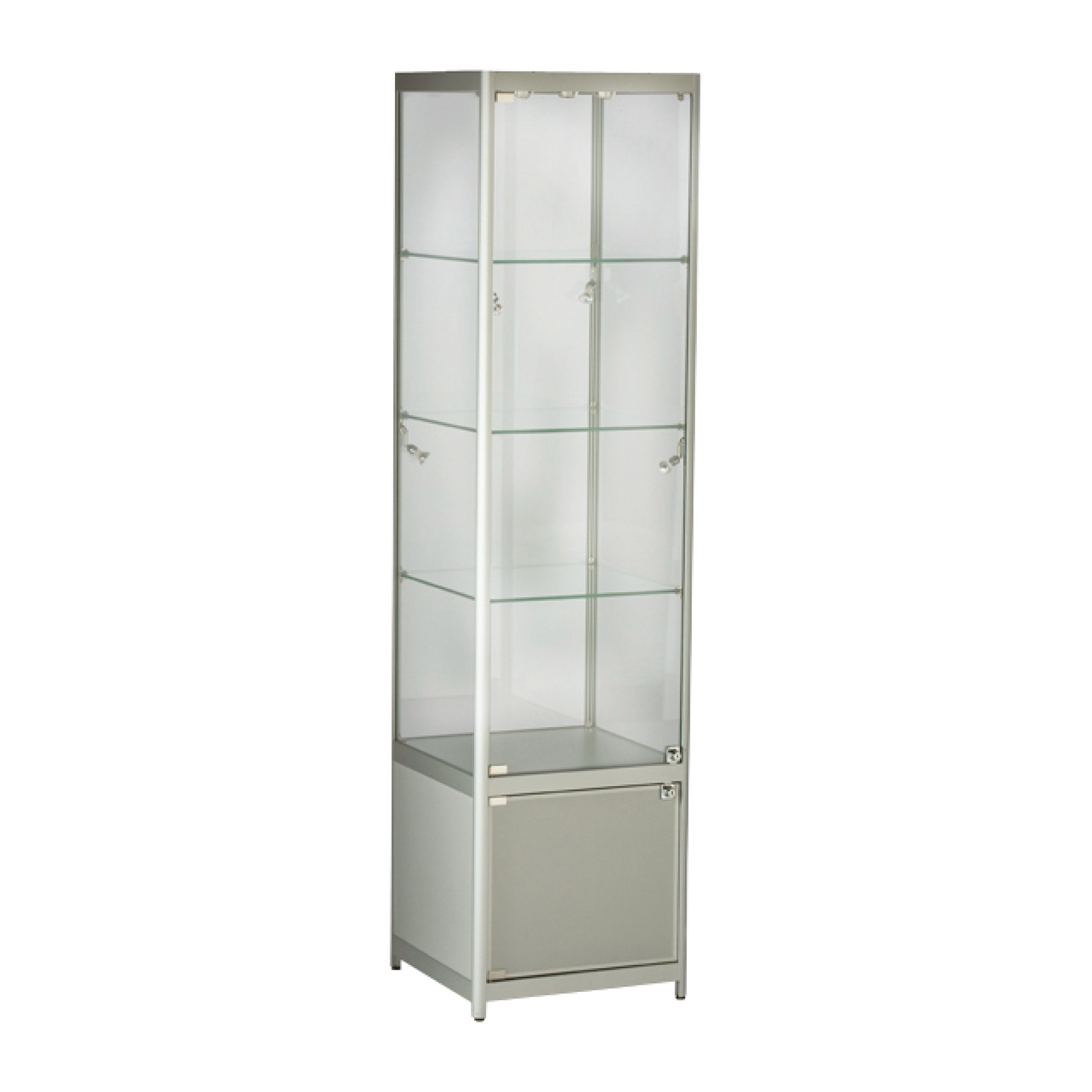 TS31-500 Tallboy Showcase with Cabinet