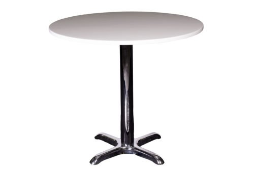 Table chelsea 80cm round white