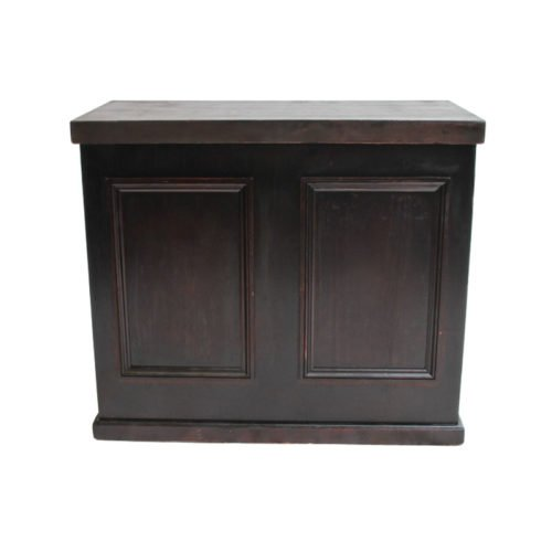 Mahogany bar 4ft folding front