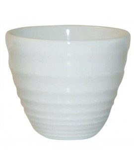 Ripple pot white 4oz