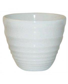 Ripple pot white 4oz