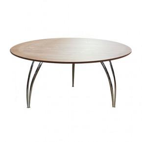 Table dark oak 5ft 6 round